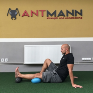 Straight Knee Push Down + overball