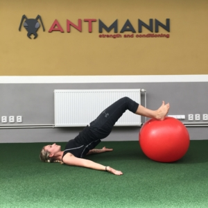 Hamstring Curl w/ Gymball
